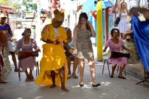 Traditional Cuban dancing