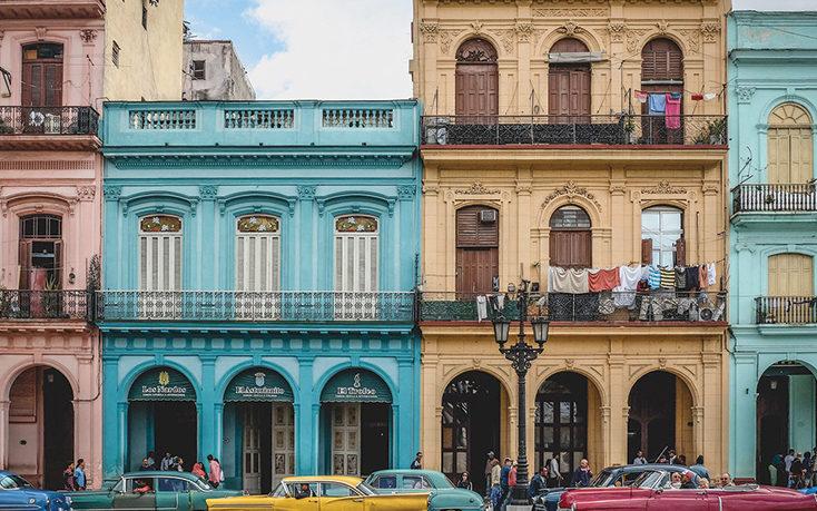 Cuban streetscape
