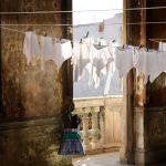Clothesline in Cuba