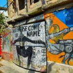 Art murals in Cuba
