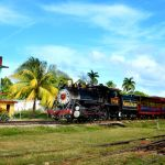 Steam train, Cuba