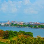 Havana, Cuba across the water