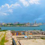 Art by the water Havana Cuba