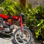 Vintage Motorcycle, Cuba