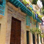 Cuban house front