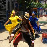 Local Cuban dancers