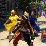 Local Cuban dancers