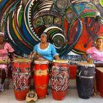 Local Cuban drummers
