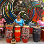 Local Cuban drummers